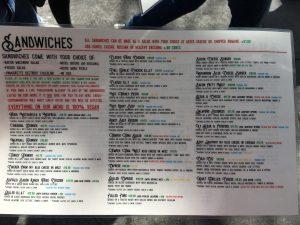 Butcher's Son menu